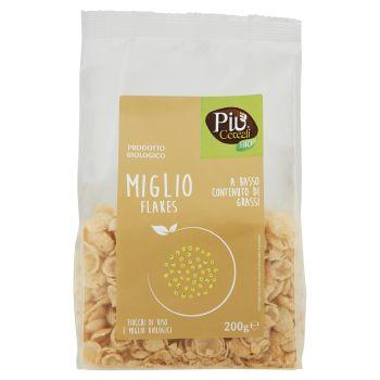 Più Cereali Bio, miglio flakes 200 g