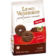 Le Veneziane, Piccoli Piaceri Croccanti con cacao e nocciole 250 g
