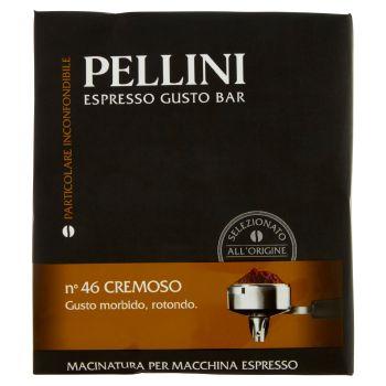 Pellini, Espresso Gusto Bar n°46 cremoso conf. 2x250 g