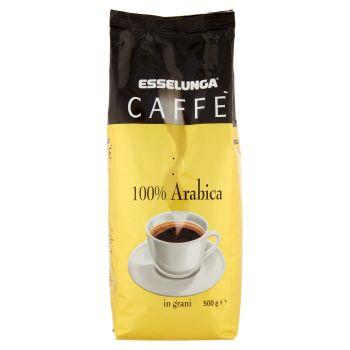 Esselunga, caffè 100% arabica in grani 500 g