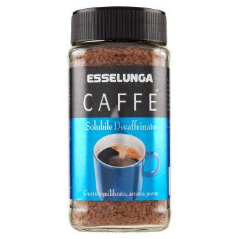 Esselunga, caffè decaffeinato solubile 100 g