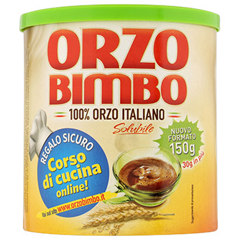 Orzo Bimbo, Orzo 100% italiano solubile 150 g