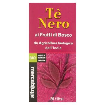 Altromercato Bio, Tè nero ai frutti di bosco 20 filtri 40 g