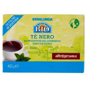 Esselunga Bio, Altromercato tè nero 20 filtri 40 g