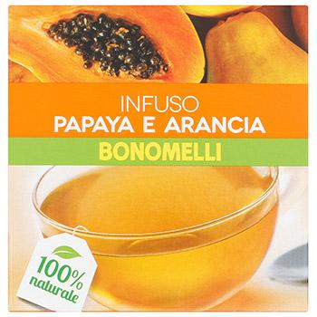 Bonomelli, Infusi 100% naturale papaya e arancia 10 filtri 23 g