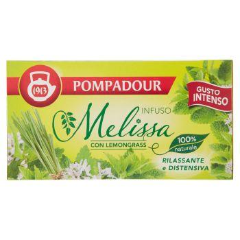 Pompadour, Melissa con Lemongrass per infuso 20 filtri 36 g