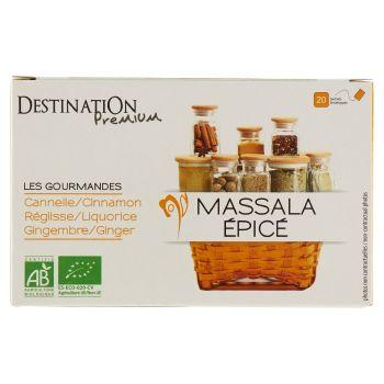 Destination Premium, Les Gourmandes Massala Épicé 20 filtri 30 g