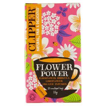 Clipper, infuso con fiori di sambuo ibisco e fiori di lime biologico 20 filtri 45 g