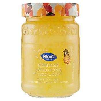 Hero, confettura extra di ananas di stagione 350 g