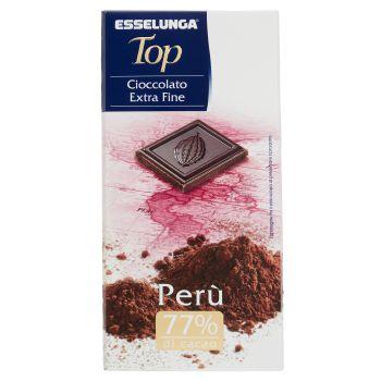 Esselunga Top, cioccolato extra fine Perù 100 g