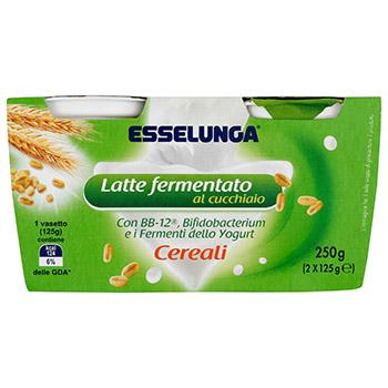 Esselunga Equilibrio, latte fermentato ai cereali conf. 2x125 g