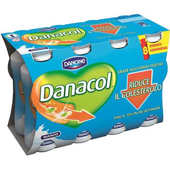 Danone, Danacol bianco conf. 8x100 g