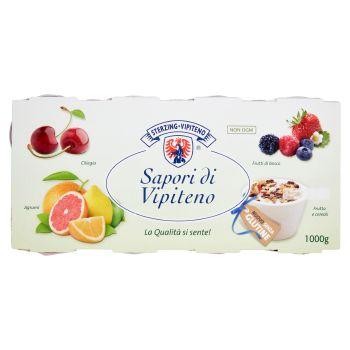 Sterzing Vipiteno, Sapori di Vipiteno yogurt agli agrumi ciliegia frutti di bosco malto conf. 8x125 g