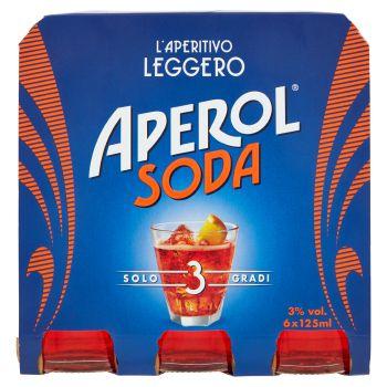 Aperol, Soda conf. 6x125 ml