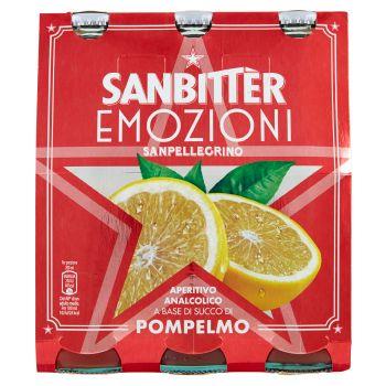 S.Pellegrino, Sanbitter, Emozioni Pompelmo conf. 3x20 cl