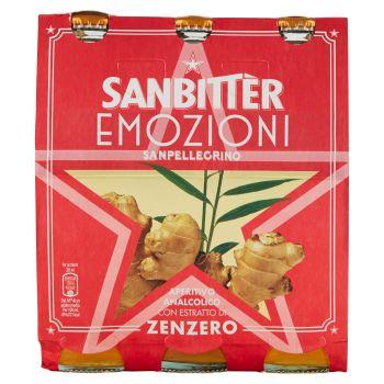 S.Pellegrino, Sanbitter, Emozioni di Zenzero conf. 3x20 cl