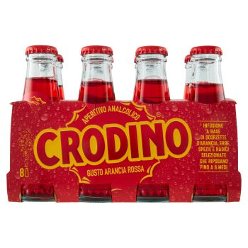 Crodino, arancia rossa conf. 8x10 cl