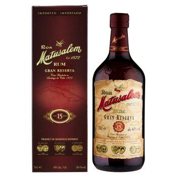 Matusalem Rum, Gran Reserva 15 70cl
