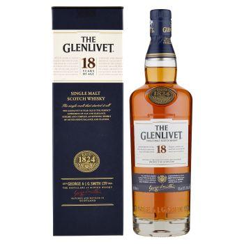 The Glenlivet, 18 Years Old Single Malt Scotch Whisky 70 cl