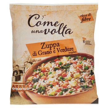 Come una volta, zuppa di grano e verdure surgelata 600 g