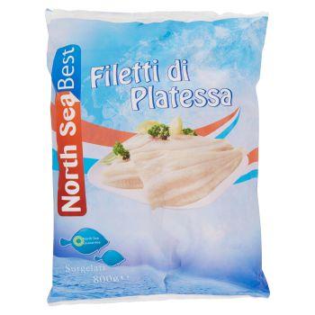 Platvis, filetti di platessa surgelati 1 kg