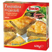 Bocon, Pasqualina ai carciofi surgelata 600 g