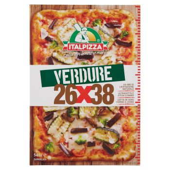 Italpizza, 26x38 cm pizza Verdure surgelata 545 g