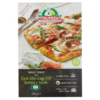 Italpizza, Trancio Verace burrata speck e rucola surgelata 370 g