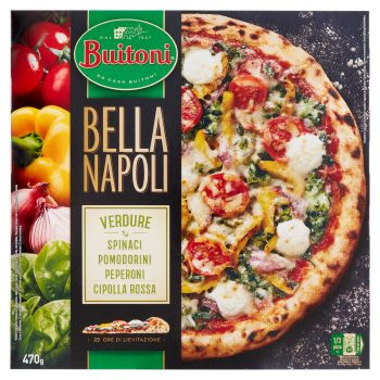 Buitoni, Bella Napoli pizza verdure surgelata 470 g