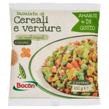 Bocon, Amarsi di Gusto insalata di cereali e verdure surgelata 450 g
