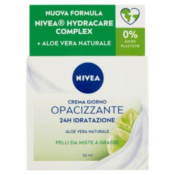 Nivea, Essentials Super Idratante 24H No Stop + Opacizzante crema giorno 50 ml