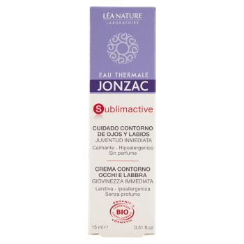 Eau Thermale Jonzac, Sublimactive crema contorno occhi e labbra 15 ml