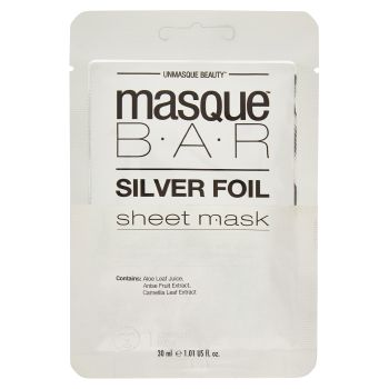 Masque BAR, Silver Foil sheet mask 30 ml