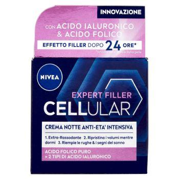 Nivea, Hyaluron Cellular Filler crema notte anti-rughe 50 ml