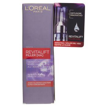 L'Oréal Paris, Revitalift Filler [HA] siero concentrato rivolumizzante all'acido ialuronico 16 ml