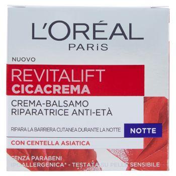 L'Oréal Paris, Revitalift Cicacrema crema-balsamo riparatrice anti-età notte 50 ml