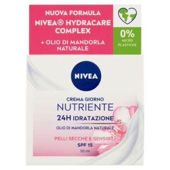 Nivea, Essentials Super Idratante 24H No Stop + Nutriente crema giorno 50 ml