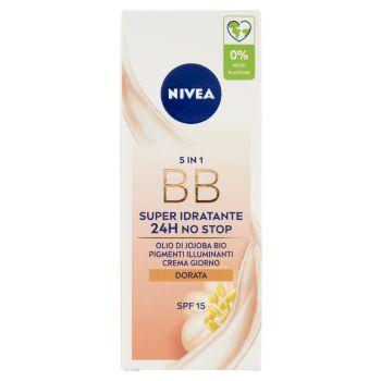 Nivea, BB crema idratante colorata dorata tutti i tipi di pelle 50 ml