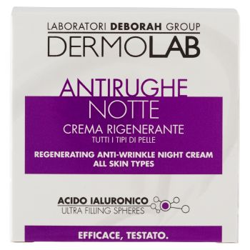 Dermolab, Antirughe crema rigenerante notte 50 ml
