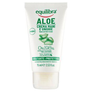 Equilibra, Aloe crema mani e unghie idratante protettiva 75 ml