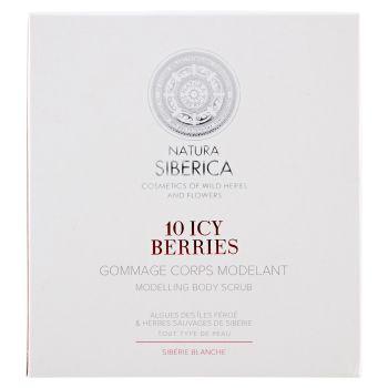 Natura Siberica, Sibérie Blanche 10 Icy Berries scrup corpo modellante 370 ml