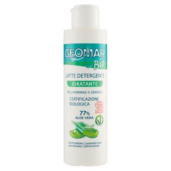Geomar, Bio latte detergente idratante pelli normali e sensibili 150 ml