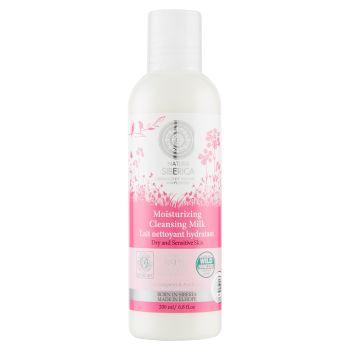 Natura Siberica, latte detergente idratante pelli secche e sensibili 200 ml