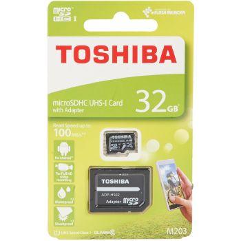 Toshiba microSDHC UHS-I Card con adattatore 32GB