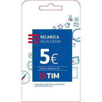 Tim Ricarica telefonica virtuale da 5 Euro