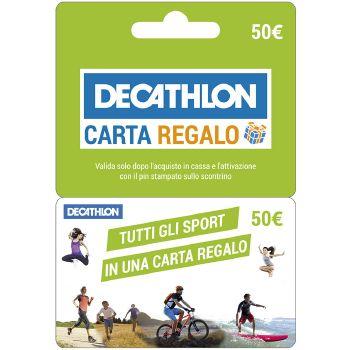 DECATHLON Gift Card da 50 Euro