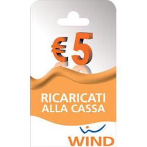 Wind Ricarica telefonica virtuale da 5 Euro
