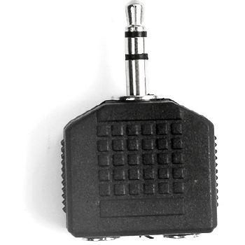 Ekon Sdoppiatore audio Jack 3,5 mm maschio a 2 femmina