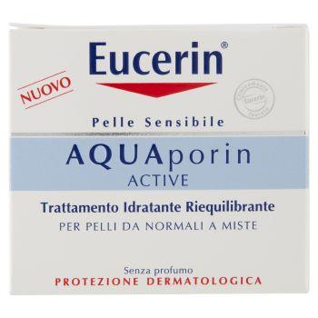 Eucerin, Aquaporin Active trattamento idratante riequilibrante pelli da normali a miste 50 ml