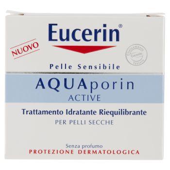 Eucerin, Aquaporin Active trattamento idratante riequilibrante pelli secche 50 ml